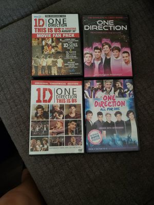 Dvds one direction for Sale in Evansville, IN