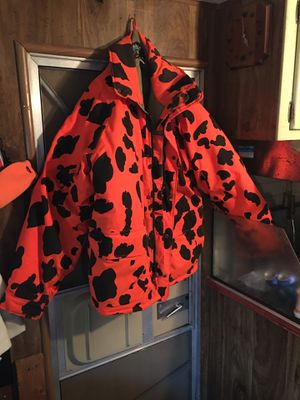 X-large hunting coat and hat for Sale in Benzonia, MI