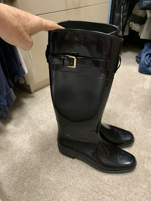 Ralph Lauren rain boots women 9 good condition for Sale in Coral Springs, FL