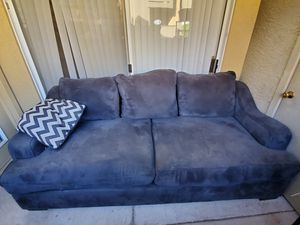 Large Blue Couch for Sale in Phoenix, AZ