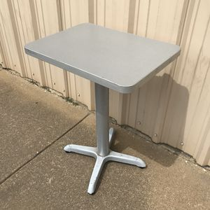 One (1) piece small bistro patio dining table only, no chairs for Sale in Irving, TX