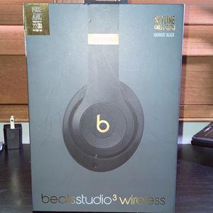 Beats studio 3 Wireless/Midnight Black/SkyLine Collection for Sale in Hacienda Heights, CA