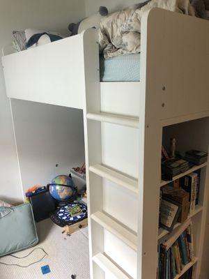 Stuva ikea loft bunk bed white great condition for Sale in Atlanta, GA