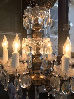Beautiful Vintage Crystal Chandelier for Sale in Sacramento,  CA