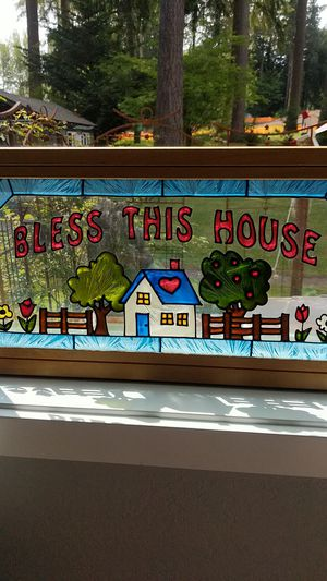 Stained Glass hanging, Really cute. for Sale in Bothell, WA