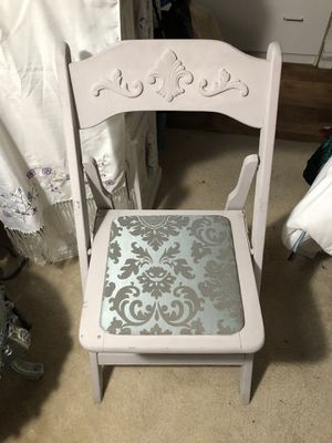 Refinished Antique Fold-Up School Chair for Sale in Menifee, CA