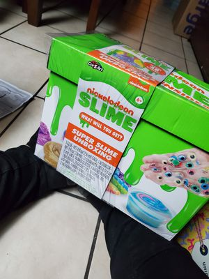 Large box of Nickelodeon slime for Sale in Visalia, CA