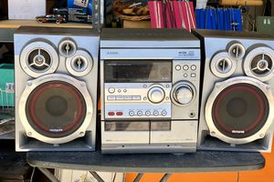Free!!!! Great garage stereo! Radio and cassette works not sure about CD player. Good sound, nothing fancy! Need gone! Curb pick up!!!!! for Sale in Tolleson, AZ