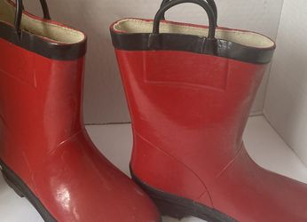 Western Chief Firechief 2 kids red rain boots for Sale in Lancaster,  CA