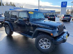2015 Jeep Wrangler Unlimited for Sale in Burien, WA