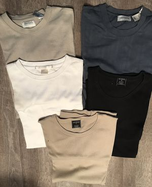 5 men's pull on casual/ dress shirts. XL for Sale in Pembroke Pines, FL
