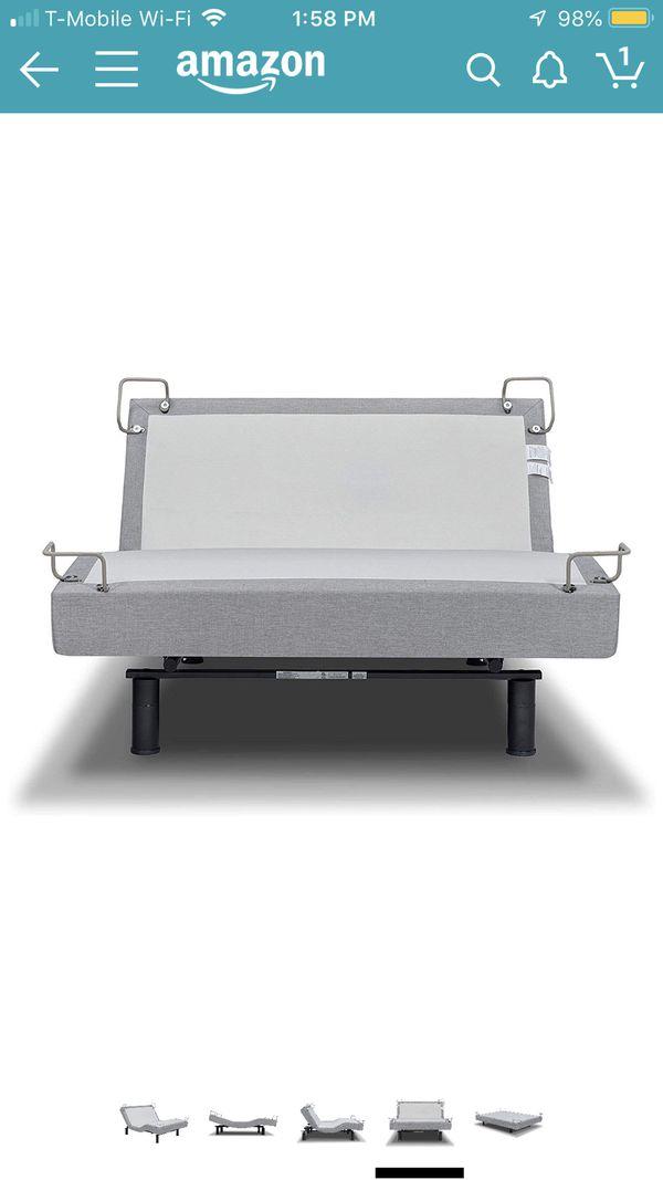 Twin size REVERIER BRAND adjustable massage bed