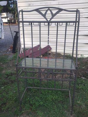 Bakers wine rack with shelves for Sale in Petersburg, VA