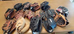 Baseball/ Softball Gloves for Sale for Sale in Shelton, CT