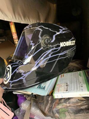 Kobalt Welders helmet excellent condition cost $130 sell for $90 for Sale in San Bernardino, CA
