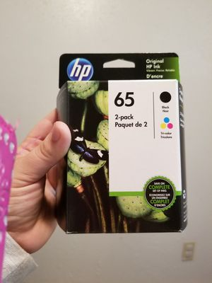Hp ink 65 2 pack for Sale in College Station, TX