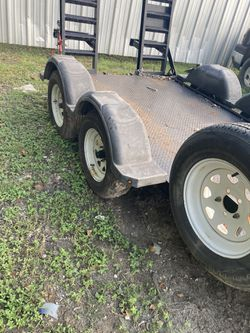 Tractor hauler 2017 5ftx10ft. Good condition for Sale in Houston,  TX