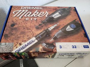 NEW Dremel Engraver, Butane Soldering Rotary Tool Kit for Sale in Rowlett, TX