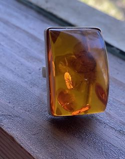 Vintage Huge Amber Ring for Sale in Arcadia,  CA