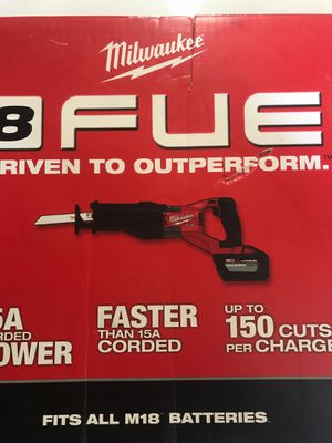 Milwaukee M18 Super Sawzall 2722-21HD No Offers for Sale in Selma, CA