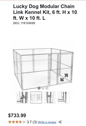 Lucky dog kennel 6x10x10 for Sale in Lakeside, CA