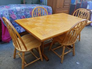 Table with chairs for Sale in Clovis, CA