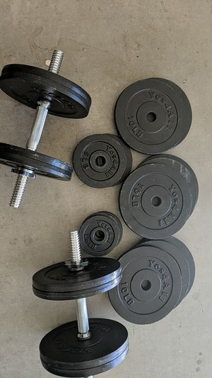 Dladjustable dumbbells - practically never used for Sale in Tempe, AZ