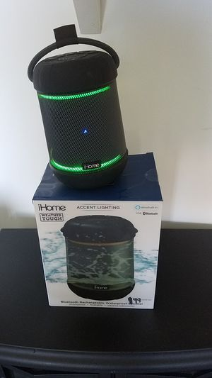 ihome ibt158 smart bluetooth speaker - with alexa built-in and color changing led lights for Sale in Mesa, AZ