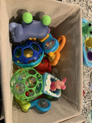 Baby toys /rattles learning games for Sale in Chandler, AZ