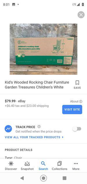 Kids rocking chair brand new in box for Sale in San Bernardino, CA