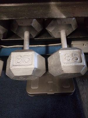 85 lb hex dumbbell set for Sale in Kissimmee, FL