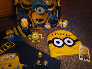 """Kids """"Dispicabal Me"""" Minions Backpack, Toys & Clothing for Sale in Anaheim, CA"""