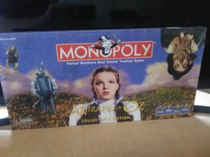 Monopoly Wizard Of Oz Edition... for Sale in Leland, MS
