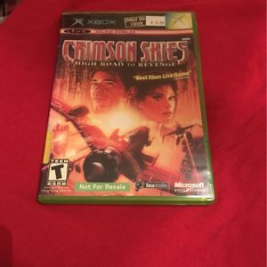 Crimson Skies high Road To Revenge for Sale in Modesto, CA