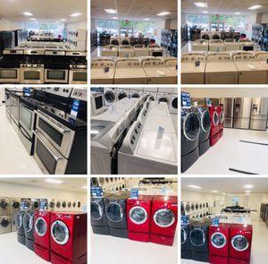 🔥🔥New Opening Washers and Dryer set top load (350) up 🔥🔥 for Sale in McDonogh, MD