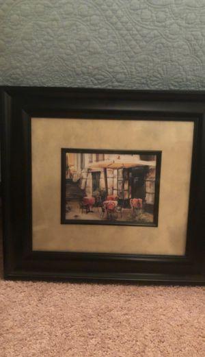 European Cafe painting for Sale in Alexandria, VA