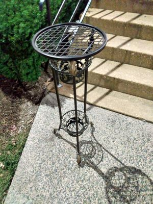 Tall metal plant stand 35 H for Sale in Alexandria, VA