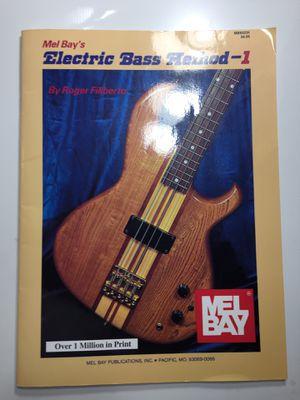 Mel Bay Bass Guitar Method 1 book for Sale in Miami, FL
