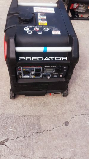 GENERADOR PREDAT0R 3500 WATTS for Sale in Austin, TX