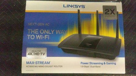 Linksys EA7500 Wifi Router AC1900 Gigabit MU-mio for Sale in Vancouver,  WA