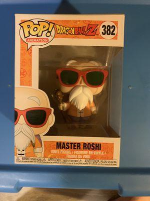 Master Roshi!! Funko Pop Dragonball Z #382 for Sale in Webster, NY