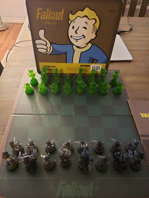 Fallout Chess Set for Sale in Murrieta, CA