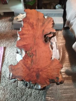 Burl wood table for Sale in Everett, WA