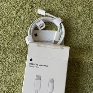 Fast Charger Apple USB C to Lightning for Sale in Santa Ana, CA