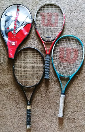 Wilson Tennis Rackets for Sale in Richmond, VA