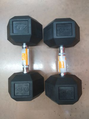 CAP 40 lb Dumbbell Set (80 lbs total) - NEW IN HAND for Sale in Pottsville, PA