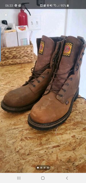 Justin steal toe work boots size 11 for Sale in Hixson, TN