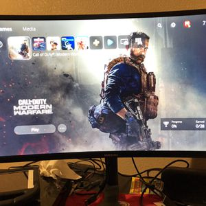 """Samsung CFG73 27"""" Monitor for Sale in Fresno, CA"""