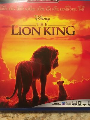 The Lion King Digital movie code for google play only! for Sale in Orange, CA