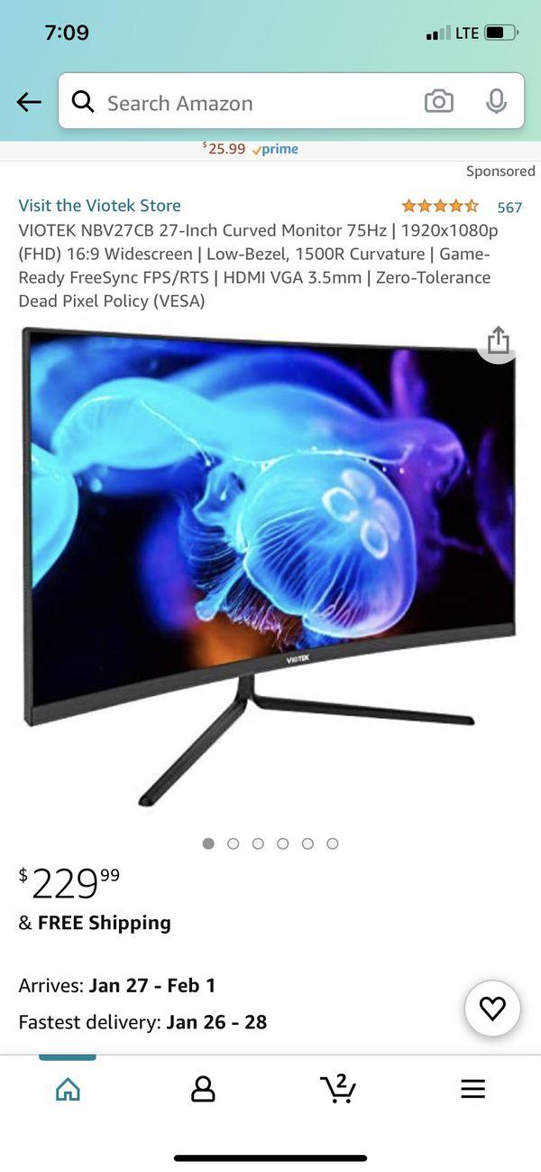Viotek 27 inch monitor